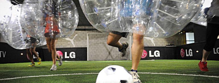 Amsterdam Bubble Fußball